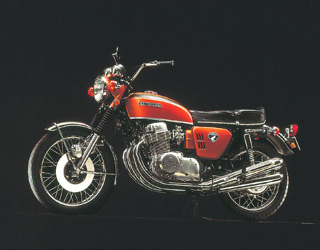 It Had Two Notable Features That Were First On Mass Production Bikes: Front  Disk Brakes And Over Head Cam Technologies.